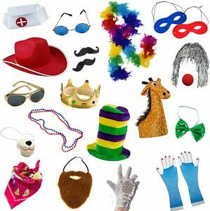 Funny Party Hats Photo Booth Props - Photo Booths for Parties - 18 Pc. Assorte..