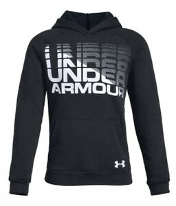 Under Armour Boys ColdGear Hoodie NWT Black or Teal   Size  S 8   or L  1416