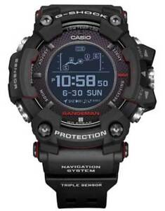 New Casio G-Shock Rangeman Solar GPS Navigation Bluetooth Watch GPRB1000-1