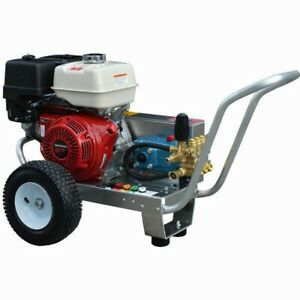 Gas Pressure Washer - Cold Water - 4000 PSI - 13 HP Honda Engine - Belt Drive