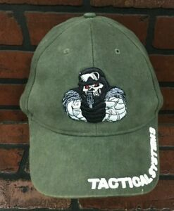 Florida Bullet Tactical Systems Hat Cap Skeleton Soldier Helmet Gun Green $19.97