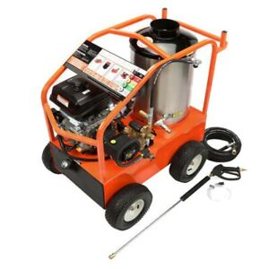 Gas Hot Water Pressure Washer - 4000 PSI - 3.5 GPM - 14 HP Kohler - General Pump
