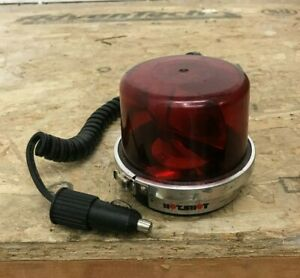 Vintage SVP HotShot rotating red dash light works great with cord