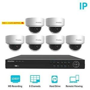 Laview 8 Channel Full Hd 1080P Business And Home Security Camera System 6X True