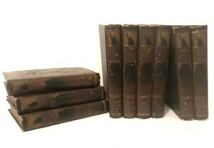 Library of American History Ellis Vol 1-9 Illustrated 1918 Edition 3D Cover