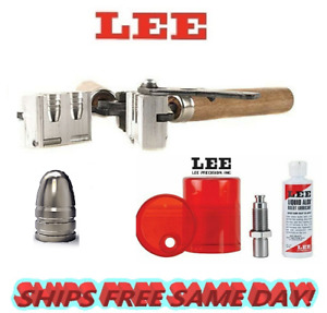 Lee 2 Cav Mold for 44 Special 44 Rem Mag 44-40 WCF & Sizing and Lube Kit 90341