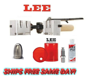 Lee 2 Cav Mold for 356 Dia 9mm 38 Super 380 ACP & Sizing and Lube Kit! 90309