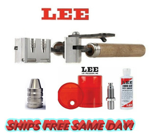 Lee 2 Cav Mold for 38 Spl357 Mag38 Colt NP38 S&W & Sizing and Lube Kit! 90318