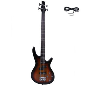New Sunset 4 Strings Electric IB Bass Guitar