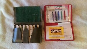two vintage sewing kits $1.00