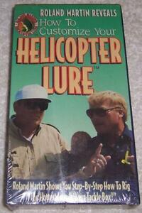 How to Customize Your Helicopter Lure VHS Video Roland Martin Bass Fishing