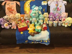 vintage care bears lot