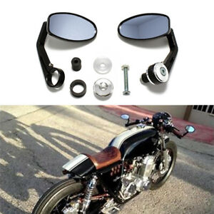 Motorcycle 78'' Handle Bar End Mirrors for Honda CB750 CB1000 CB1100 Cafe Racer