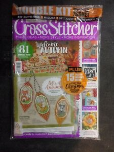CrossStitcher Octobet 2018 Double kit Bumper Issue $12.99