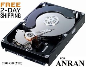 2000GB 2TB Hard Drive Internal SATA 3.5  FOR ANRAN DVR FAST SHIPPING