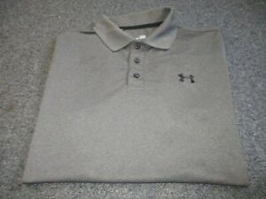 MINT MENS UNDER ARMOUR HEAT GEAR LOOSE POLO SHIRT SIZE L LARGE