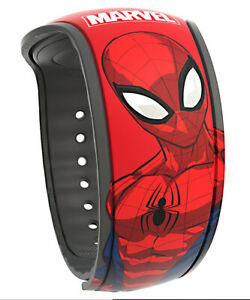 Disney Marvel Spiderman Magicband 2 Magic Band 2.0 Parks World Avengers Red