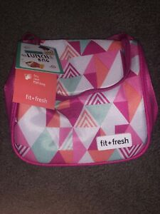 NWT Fit+Fresh Insulated Lunch Bag