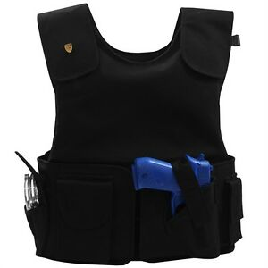 New Miguel Caballero Silver Tactical Level 3A Body Armor Bullet Proof Vest