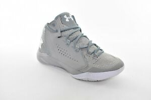 New Under Armour Torch Fade Blue Basketball Shoes Womens US Size 9 Gray
