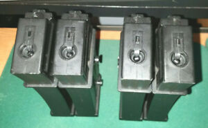 Airsoft 50rnd g36 magazine lot (4 mags)