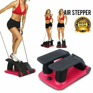 2019 Air Stepper Climber Exercise Fitness Thigh Machine WCD Resistant Cord USA