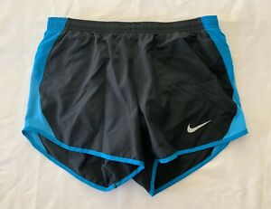 Nike Dri Fit Women's 5K Tempo Running Shorts Training Gym Workout Black Small