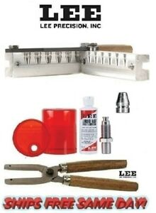 Lee 6 Cav Mold w Handles & Size and Lube Kit 9mm Luger38 Super380 ACP # 90387