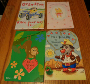 LOT OF 10 KIDS  VALENTINE'S GREETING CARDS
