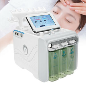 Facial Water Peeling Microdermabrasion Hydro Dermabrasion 6 in 1 Beauty Machine