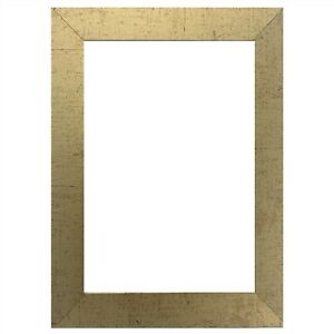 US Art Frames 1quot; Flat Antique Gold MDF Wall Decor Picture Poster Frame