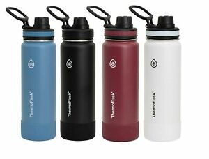 NEW ThermoFlask 24oz Double Wall Vacuum Insulated Stainless Steel Water Bottle