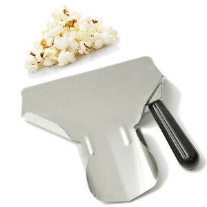 Stainless Steel French Fry ScoopChips Scooper Chip Popcorn Bagger Ice Candy