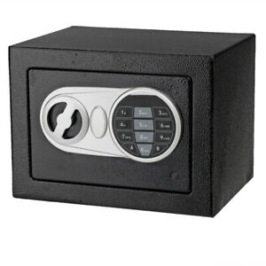 NEW Electronic Digital Steel Digital Lock Safe Box Home Office Security $28.49