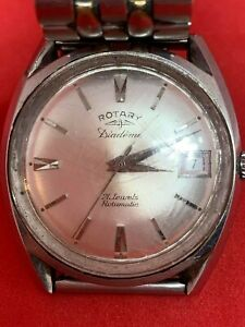 Vintage Rotary 21 Jewels Automatic Watch Working (RSPCA)