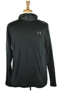 Under Armour Men Tops Sweatshirts MED Black Polyester