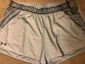 NWT Womens Under Armour Running Shorts Size XL