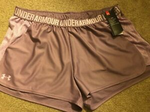 NWT Womens Under Armour Running Shorts Size XXL