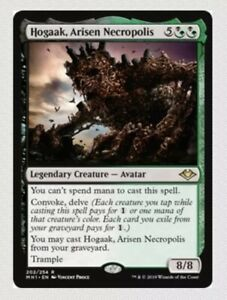 4x Hogaak, Arisen Necropolis - x4 Modern Horizons MGT Magic the Gathering