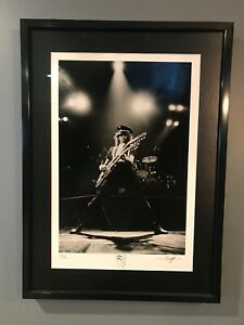 Jimmy Page Signed and Numbered 16x20 Silver Gelatin Fine Art Print #3050