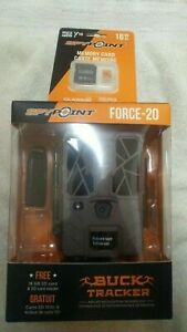 SPYPOINT FORCE-20 20.0 MP Trail Camera and 16 GB microSDHC Card