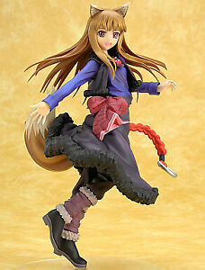 Figure Holo The Wolf And Spices 18 Painted With Pvc