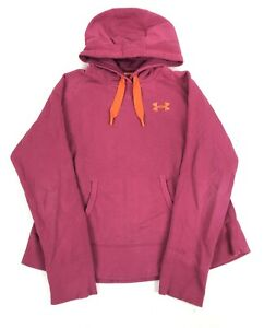 Women's UNDER ARMOUR Storm Pullover UA Logo Hoodie Size Large