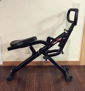 POWER RIDER CARDIO GLIDE TOTAL BODY FITNESS EXERCISE MACHINE