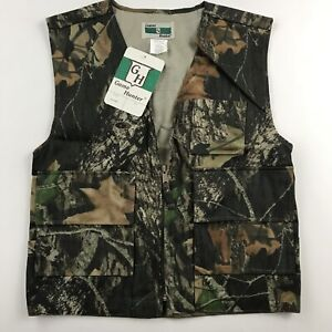 Game Hunter Youth Size L 1416 Camo Vest Mossy Oak Break Up Hunting Paintball