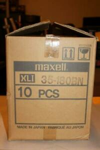 Lot of 10 Maxell 35-180BN 10