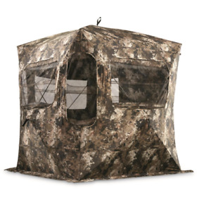 Guide Gear Field General Ground Blind Hunting Stand Hide Out Heavy Duty Deer NEW