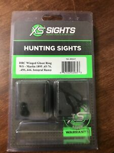 XS DRC Ghost Ring Rifle Sight Set for Marlin 1895 Integral Winged