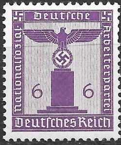 Germany Third Reich Mi# 159 Official Stamp 1942 MNH ** $1.50