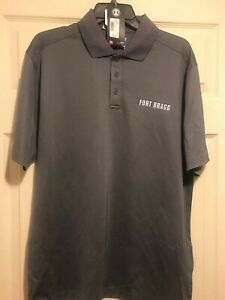 Under Mens Fort Bragg Gray Polo Size Large Nwt $22.20